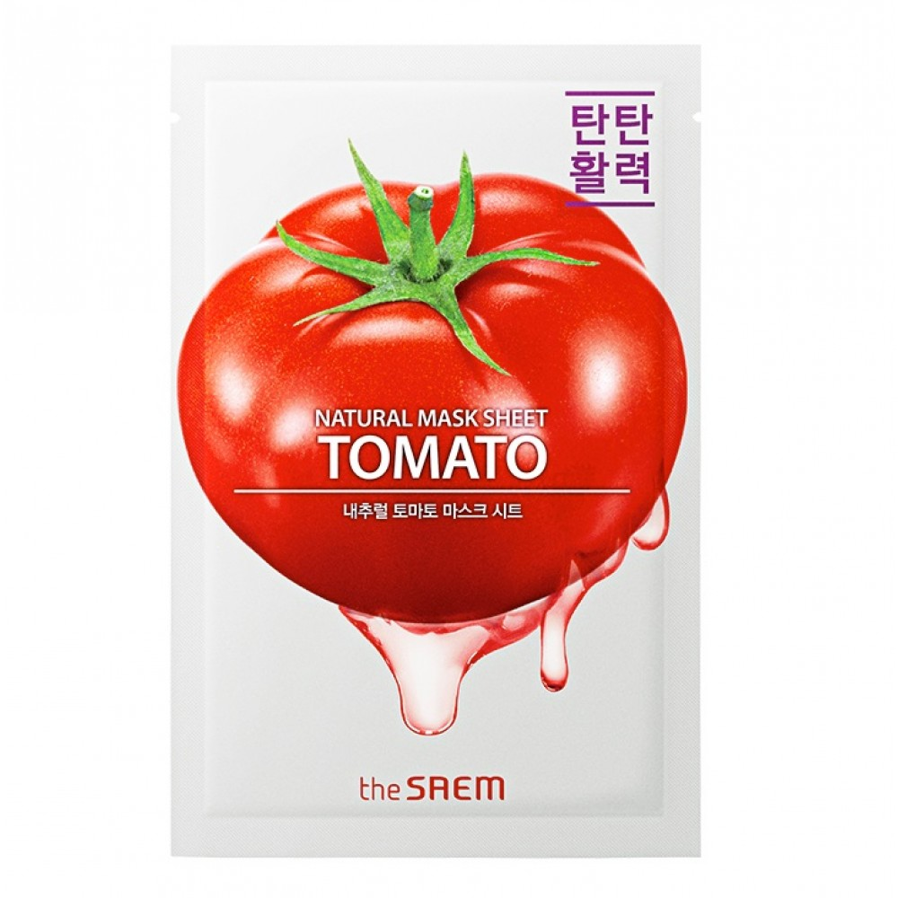 Natural Skin Fit Mask Sheet Tomato Маска тканевая томат