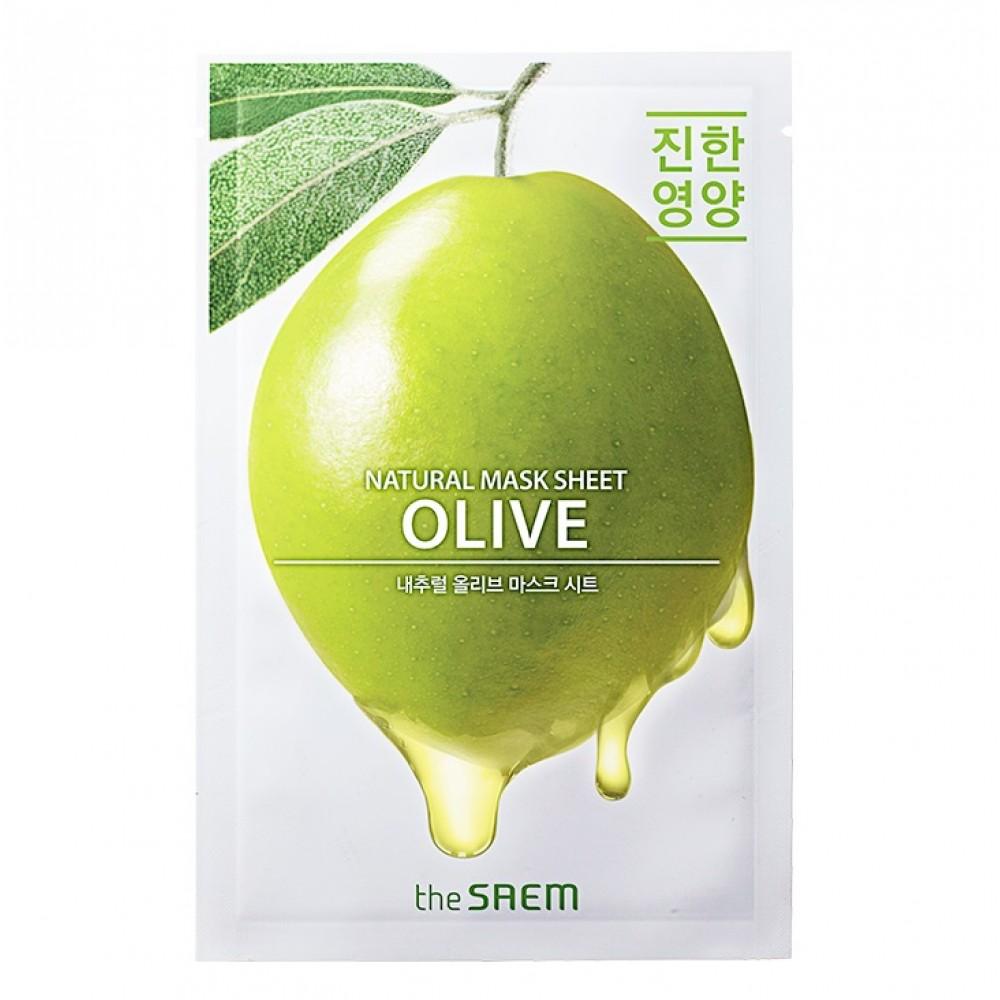 Natural Olive Mask Sheet Маска тканевая с экстрактом оливы