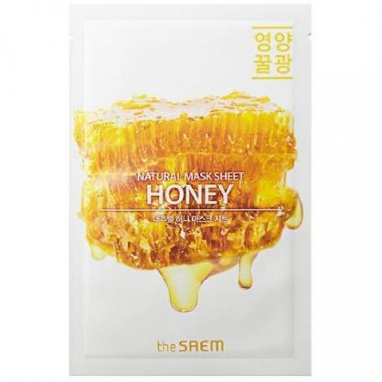The Saem Natural Honey Mask Sheet Маска для лица с экстрактом меда тканевая