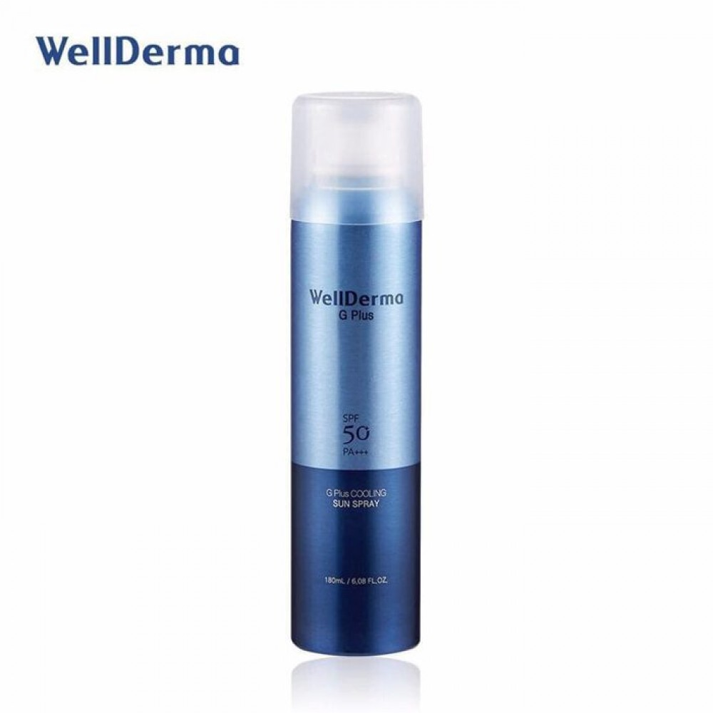 Wellderma G Plus Cooling Sun Spray Солнцезащитный спрей SPF 50 PA+++