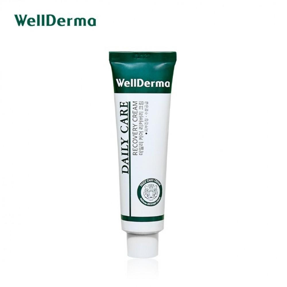 Wellderma Daily Cure Recovery Cream Восстанавливающий успокаивающий крем для чувствительной кожи