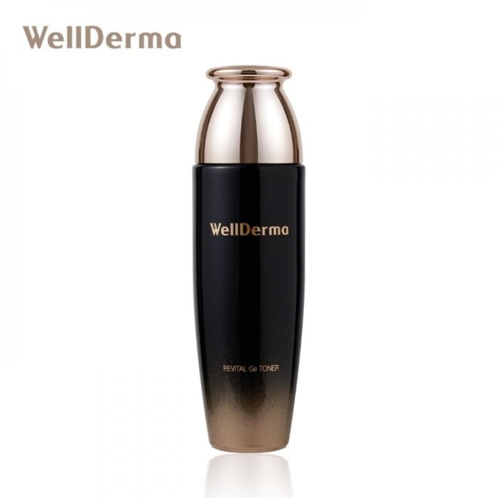 Wellderma Revital GE Toner Антивозрастной восстанавливающий тонерс германием