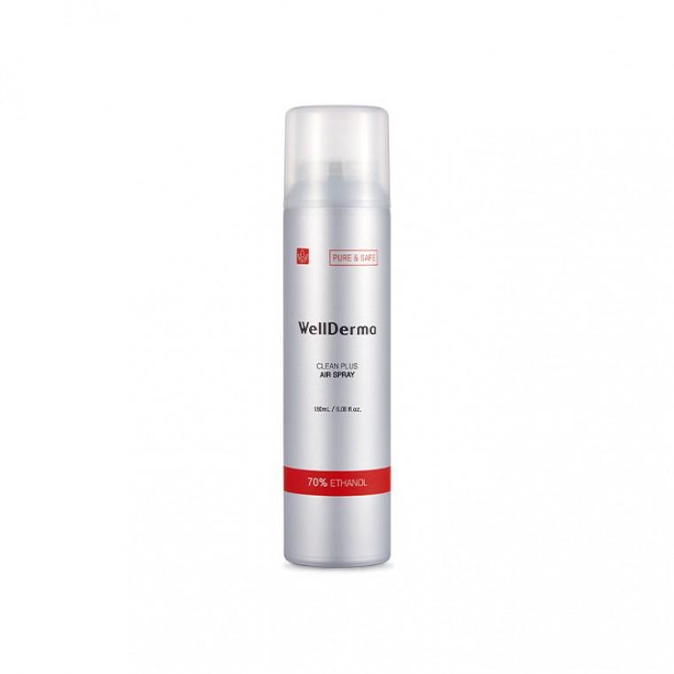 Clean Air Spray дезинфецирующий спрей - освежитель 70% этанола