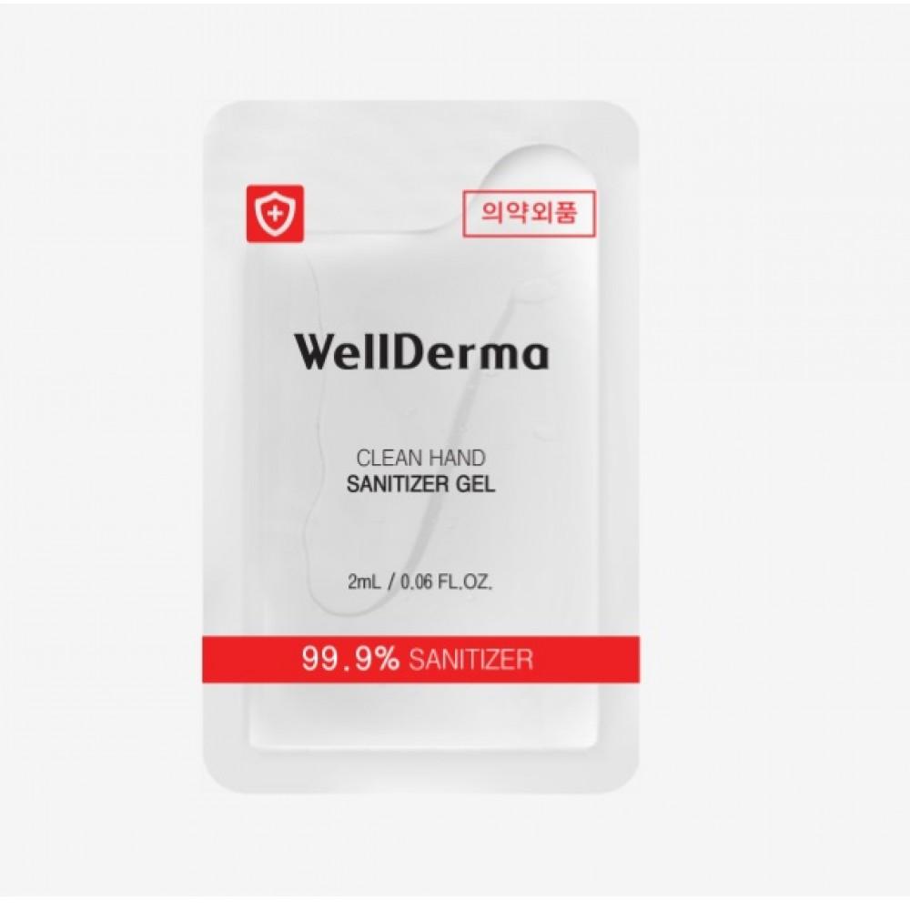 Wellderma Safe Clean Hand Sanitizer Gel Гель-санитайзер для рук 62% этанола