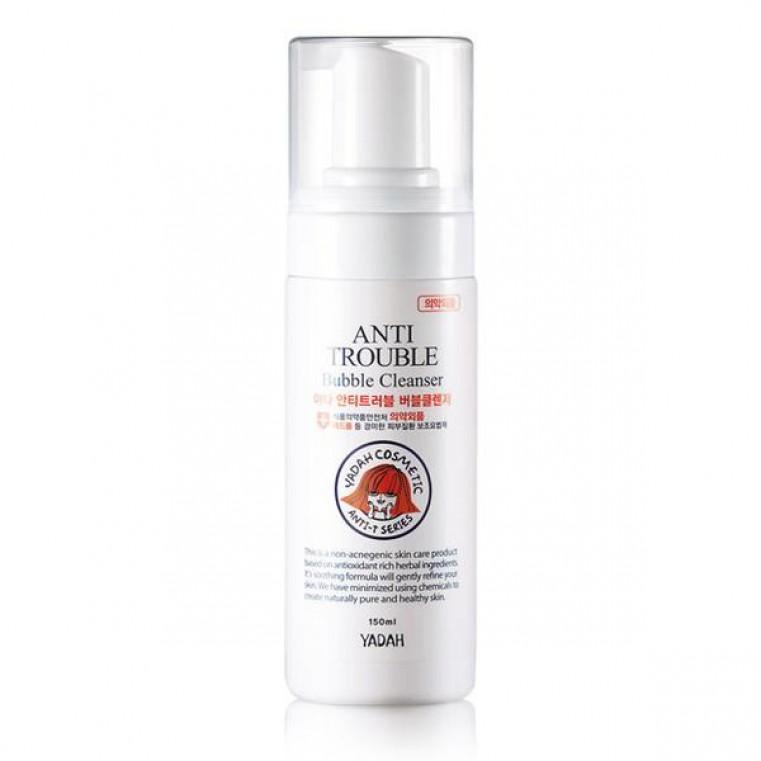 Yadah Anti Trouble Bubble Cleanser Пенка очищающая для проблемной кожи
