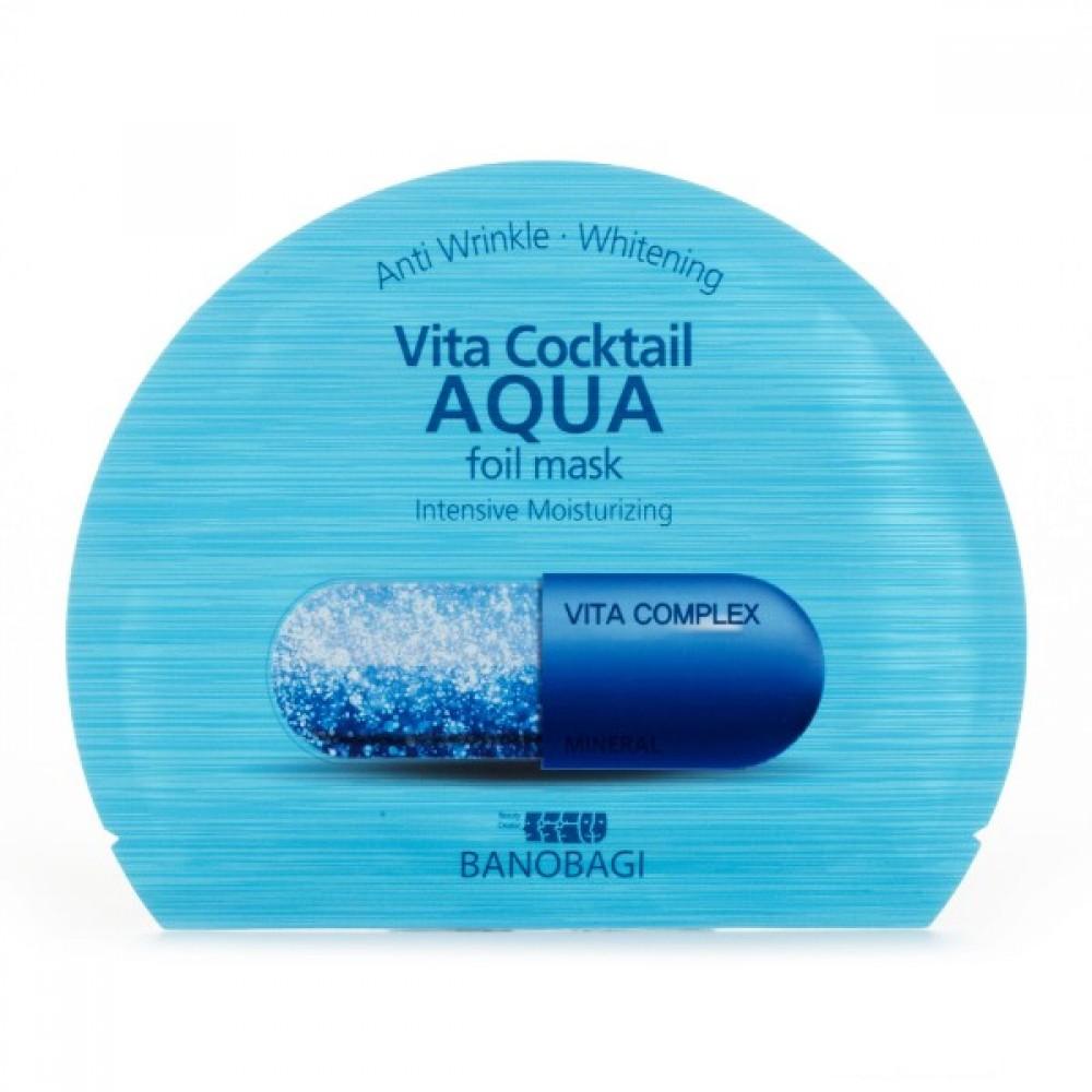 BanoBagi Vita Cocktail Aqua Foil Mask Маска фольгированная увлажняющая