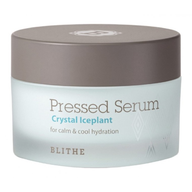 Blithe Pressed Serum Crystal Iceplant Сыворотка спрессованная увлажняющая «Хрустальный лед»