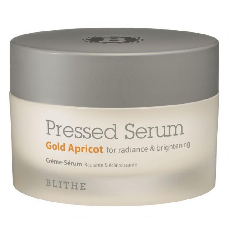 Blithe Pressed Serum Gold Apricot Сыворотка-крем спрессованная для лица для сияния «Золотой абрикос»