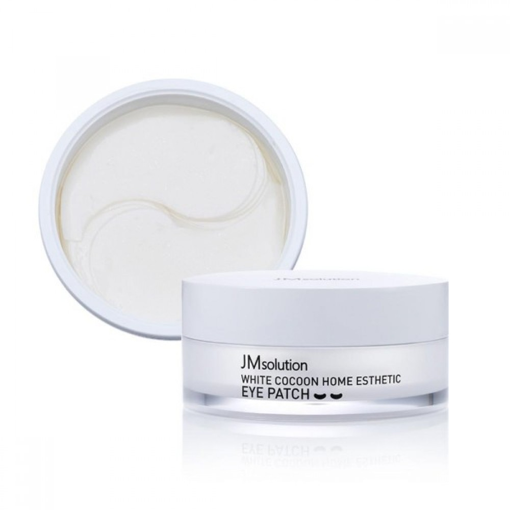JM Solution White Cocoon Home Esthetic Eye Patch Патчи гидрогелевые «белый кокон»