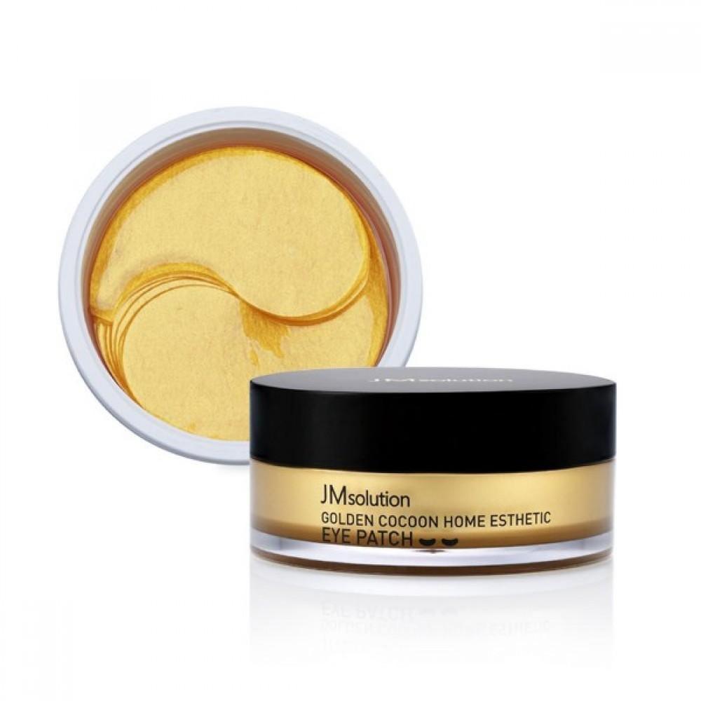 JM Solution Golden Cocoon Home Esthetic Eye Patch Патчи гидрогелевые «золотой кокон»