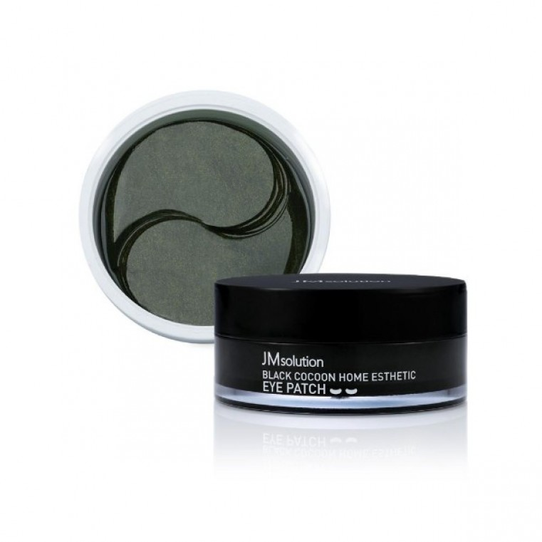 JM Solution Black Cocoon Home Aesthetic Eye Patch Патчи гидрогелевые «черный кокон»