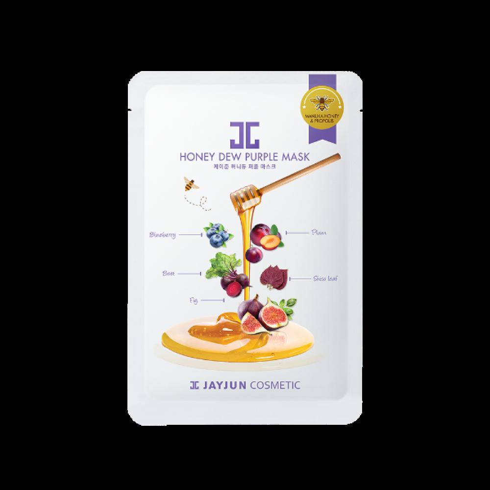 """JayJun Honey Dew Purple Mask Маска тканевая фиолетовый комплекс """"Балансирующий"""""""