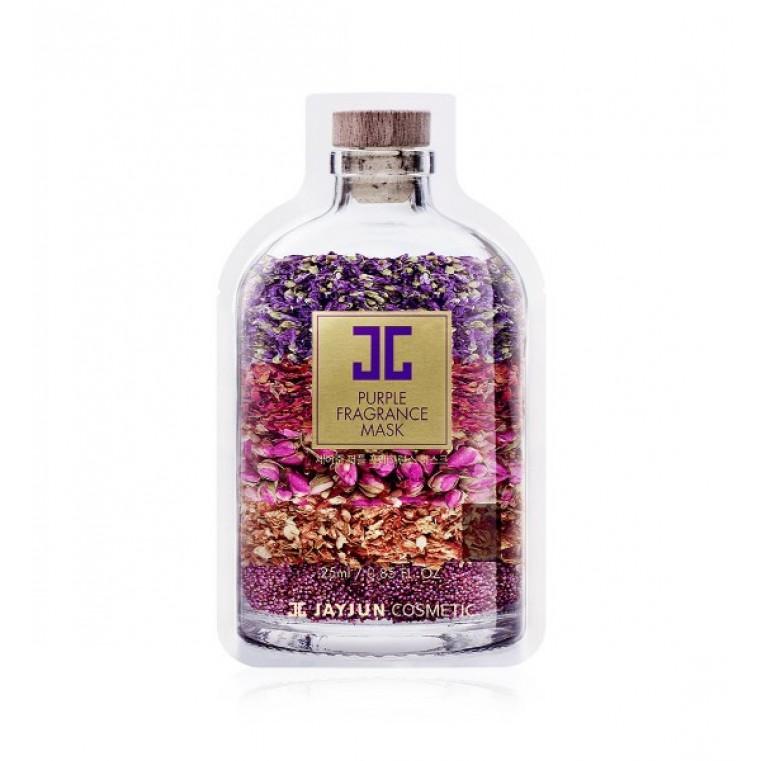 "JayJun Purple Fragrance Mask Маска тканевая ""Лиловый Аромат"""