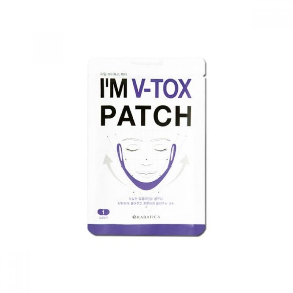 Karatica I'm V-Tox Patch Маска для поддержания овала лица