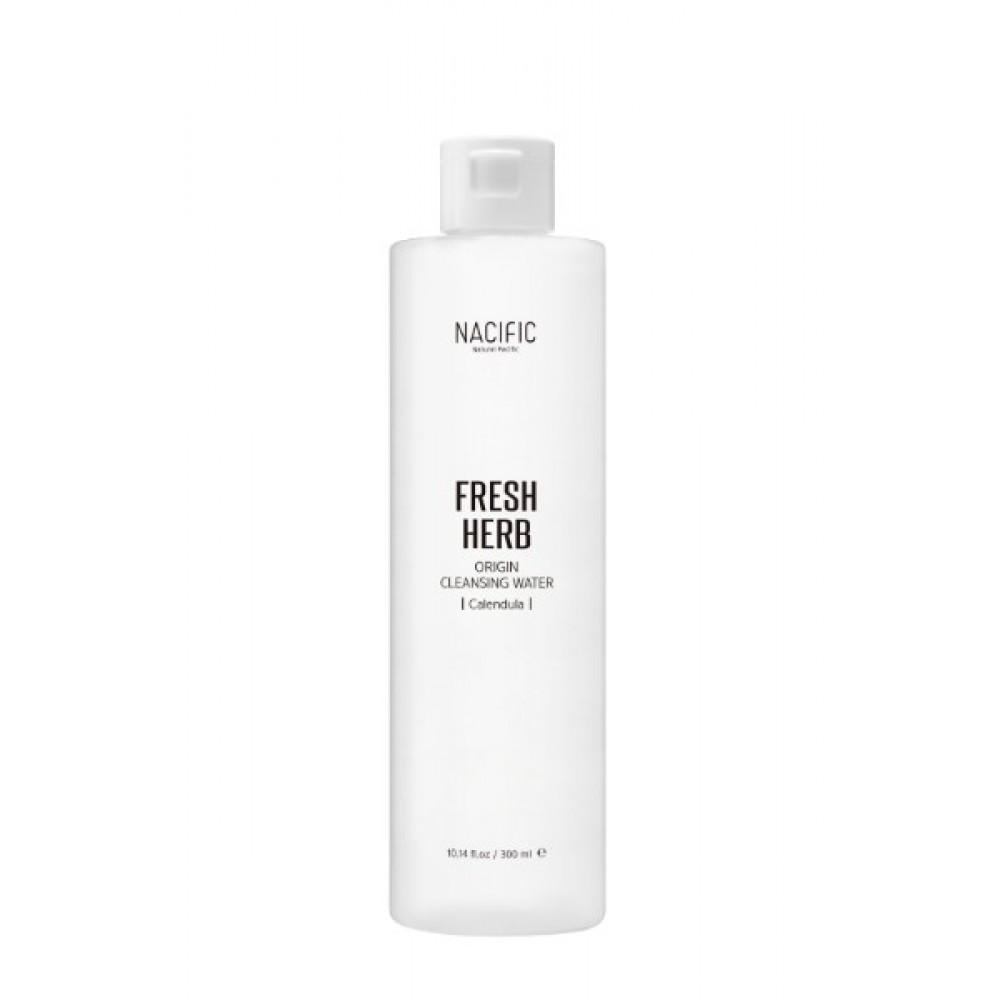 Nacific Fresh Herb Origin Cleansing Water Мицеллярная вода с экстрактом календулы