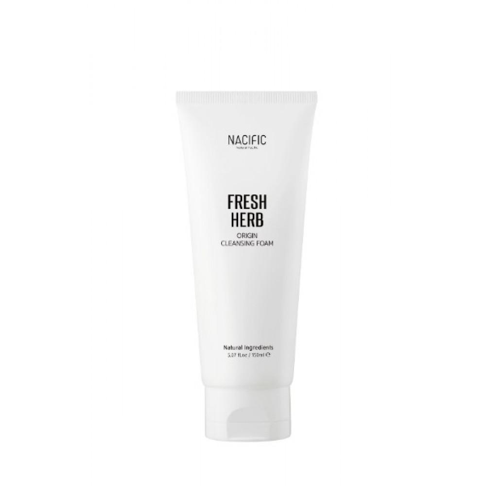 Nacific Fresh Herb Origin Cleansing Foam Пенка для глубокого очищения кожи