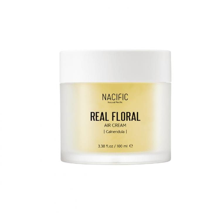 Real Calendula Floral Air Cream Крем увлажняющий с экстрактом и лепестками календулы