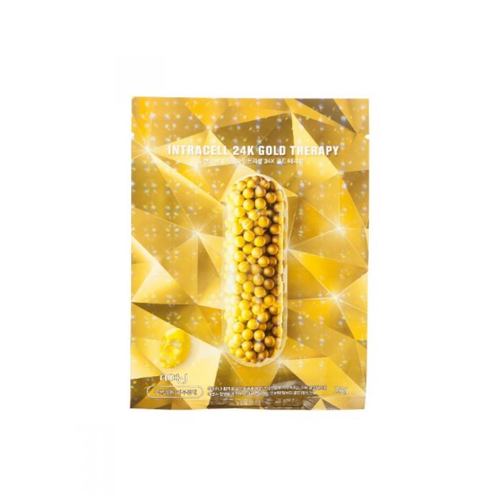 NO:HJ Intracell 24K GOLD Therapy Маска фольгированная интенсивный уход